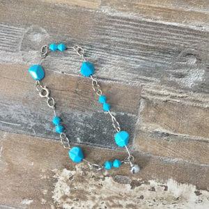 *** Vintage Faux Turquoise Bracelet